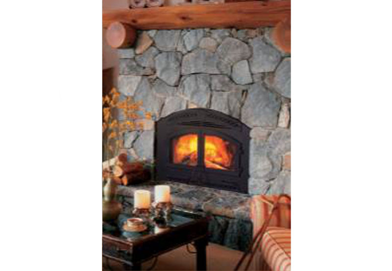 Heat N Glo North Star Wood Burning Fireplace