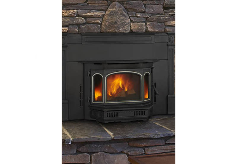 Quadra fire 4100 wood burning insert for Wood burning fireplace construction
