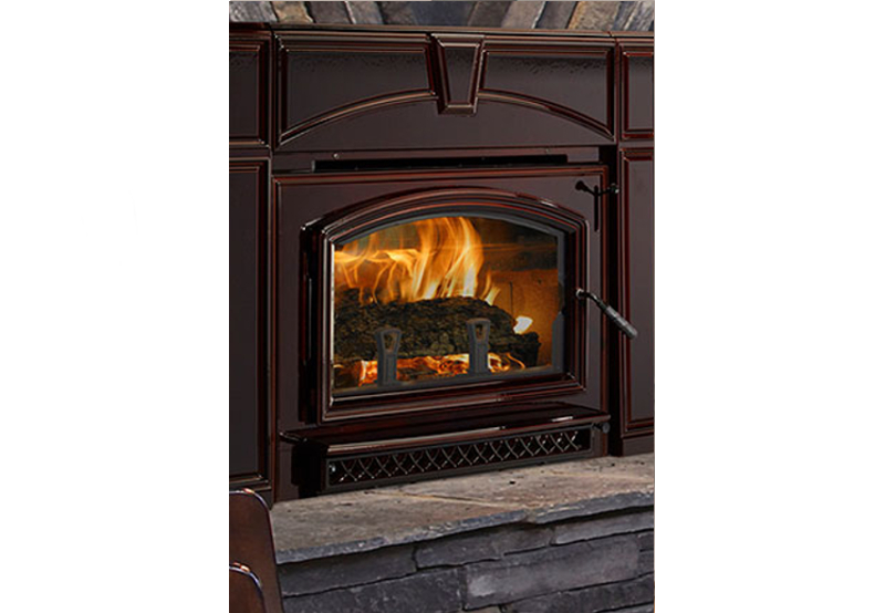 Quadra Fire Voyager Grand Wood Burning Fireplace Insert